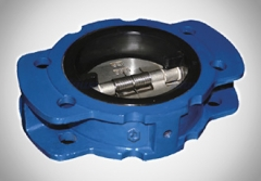 Full Lined Dual Plate Check Valve
